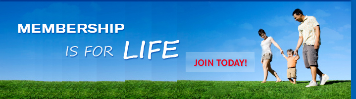 Membership is for life!  Join Today!